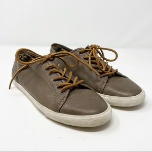 Frye // Mindy Low Classic Leather Sneaker